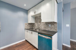 fully renovated townhouse in NE with 2 stalls and basement