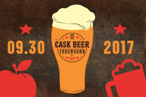 Selling two tickets for Cask Beer Throwndown event