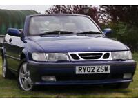 2002 Saab 9-3 2.0 T SE 2dr