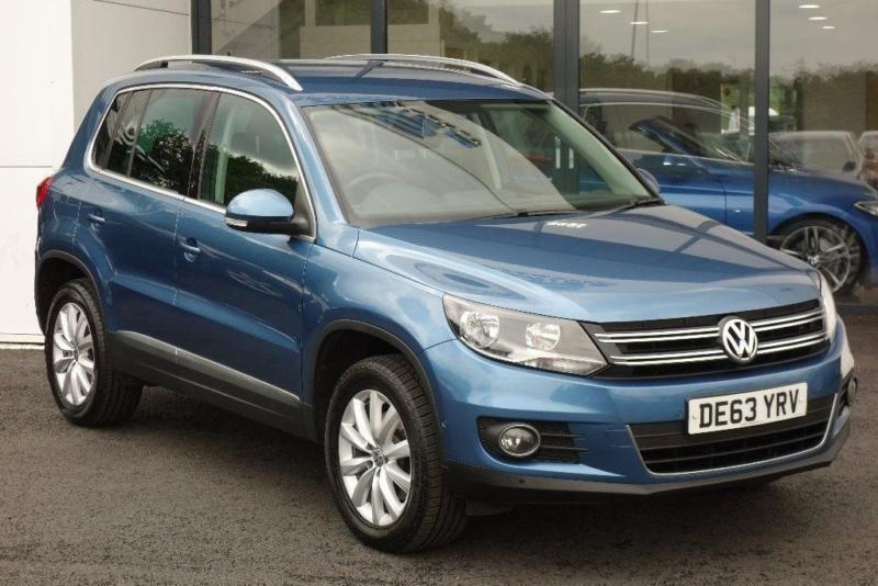 2014 Volkswagen Tiguan 20 TDI BlueMotion Tech Match Station Wagon