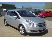 Vauxhall/Opel Corsa 1.4i 16v ( a/c ) Design 2010 SILVER, ONLY 41,000 MILES