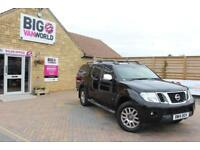 2014 NISSAN NAVARA OUTLAW DCI 231 4X4 DOUBLE CAB WITH TRUCKMAN TOP PICK UP DIESE