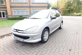 SOLD NOW 2007 Peugeot 206 1.4 Left Hand Drive Lhd French