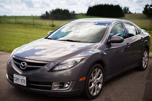 Mazda 6 V6 GT 3.7L warranty & cert/e-test, leather/FAST CAR