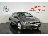 2017 Volkswagen Scirocco 1.4 TSI BlueMotion Tech GT 3dr Coupe Petrol Manual