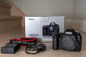 Canon 5D IV Body - Mint Condition