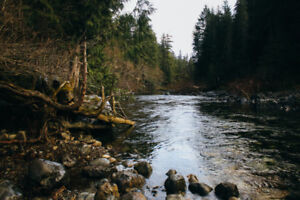 Sooke River waterfront lot or home wanted