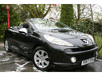 Peugeot **207 CC** 1.6 120bhp Coupe **Sport** Convertible *Only 51k miles*