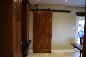Custom Made Barn Doors
