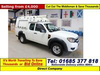 2010 - 60 - FORD RANGER 2.5TDCI SUPERCAB 4X4 PICK UP (GUIDE PRICE)