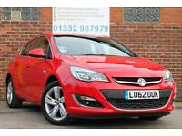 Vauxhall Astra 1.4i VVT 16v 100ps SRi Manual Petrol 5 Door Hatchback in Red