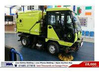 2014 - 14 - SCARAB MINOR 4.2 TON HYDROSTATIC SWEEPER (GUIDE PRICE)