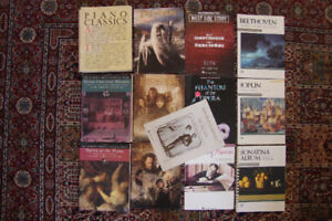 Piano music books, intermediate & advanced