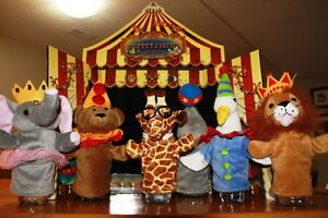 HAND PUPPETS and STAGE