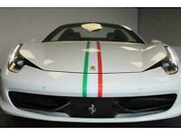2012 Ferrari 458 SPIDER DCT Auto Convertible Petrol Automatic