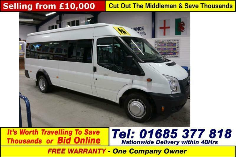 40d462c337 2014 - 14 - FORD TRANSIT T430 2.2TDCI 135PS RWD 17 SEAT MINIBUS (GUIDE  PRICE)