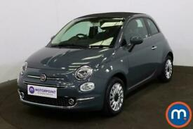 image for 2019 Fiat 500 1.2 Lounge 2dr Convertible Petrol Manual