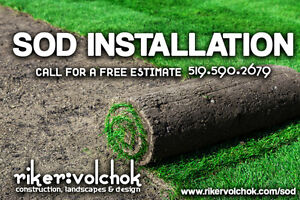 SOD INSTALLATION SPECIAL - FLAT RATE Kitchener / Waterloo Kitchener Area image 1