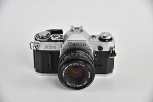 Canon AE-1 with Canon 50mm F/1.8 FD Lens