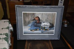 Framed print of Canvasback Duck