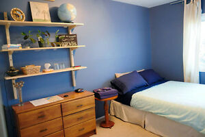 Private bedroom for a Kanata coop student - fall session