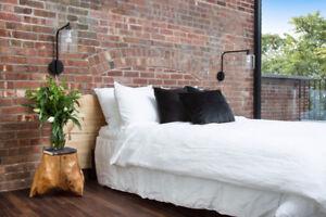 Old Loft Brick - 100 Year Old Reclaimed Brick -Cut into Veneer