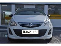 BAD CREDIT CAR FINANCE AVAILABLE 2012 62 Vauxhall Corsa 1.3CDTi ecoFLEX