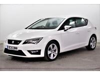 2015 SEAT Leon TDI FR TECHNOLOGY Diesel white Manual
