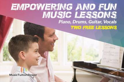 Empowering and Fun Drum lessons- Get 2 FREE lessons!