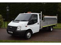 Ford Transit dropside 2.2 tdci 6 speed with 500kg tail lift