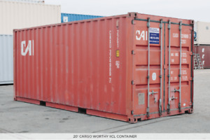New and Used Shipping Containers Available