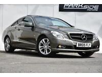 2010 Mercedes-Benz E Class 2.1 E250 CDI BlueEFFICIENCY SE 2dr