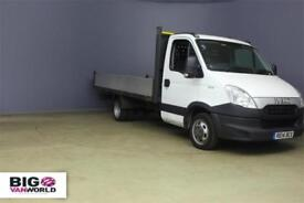 2014 IVECO DAILY 35C13 3750 WB ALLOY DROPSIDE DROPSIDE DIESEL
