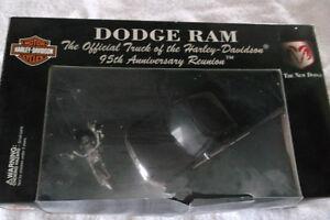 DODGE RAM / DYNA WIDE GLIDE 95th. ANNIVERSARY METAL DIE CAST Windsor Region Ontario image 2