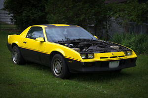 1983 Chevy Camaro Project