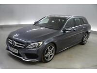 Mercedes-Benz C Class C300 BlueTEC Hybrid AMG Line Premium Plus 5dr Auto
