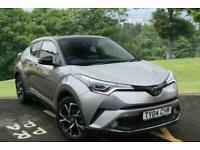 2017 Toyota CHR 1.2T Dynamic 5dr CVT AWD Chrome Accent Pack. Spare wheel Hatchba