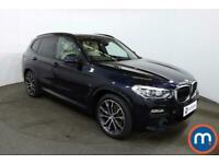 2019 BMW X3 xDrive30d M Sport 5dr Step Auto 4x4 Diesel Automatic
