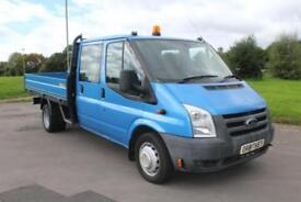 Ford Transit 350 D/c115 ps Extended Frame metallic Blue Low Mileage Diesel Truck