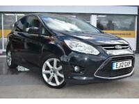 2012 12 FORD C-MAX 2.0TDCi TITANIUM GOOD AND BAD CREDIT CAR FINANCE AVAILABLE