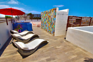 Heart of Playa del Carmen. Private rooftop patio w plunge pool!
