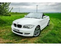 2009 BMW 1 Series 118i ES 2dr Step Auto Convertible Just Serviced (10 stamps) On