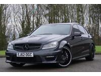 2012 Mercedes-Benz C Class 6.3 C63 AMG Saloon 4dr Petrol MCT 7S (280 g/km,