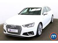 2019 Audi A4 40 TFSI S Line 5dr S Tronic Auto Estate Petrol Automatic