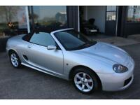 TROPHY CARS MGF MGTF 135,FULL LEATHER,NICE & TIDY,NEW HEADGASKET,WARRANTY.
