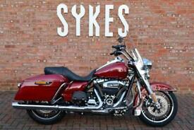 NEW 2020 Harley-Davidson FLHR Touring Road King in Stiletto Red