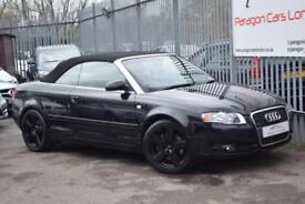 2006 Audi A4 Cabriolet 2.0TFSi 200 Sport MTron Auto7 Petrol black CVT