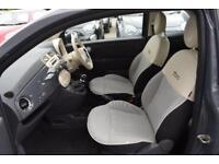 2015 Fiat 500 1.2 Pop Star (s/s) 2dr Petrol grey Manual