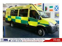 2011 - 61 - IVECO DAILY 50C17 3.0D 170PS 5.2TON 9 SEAT INCIDENT SUPPORT VEHICLE