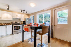 Beautiful and fully renovated water view home in the west island